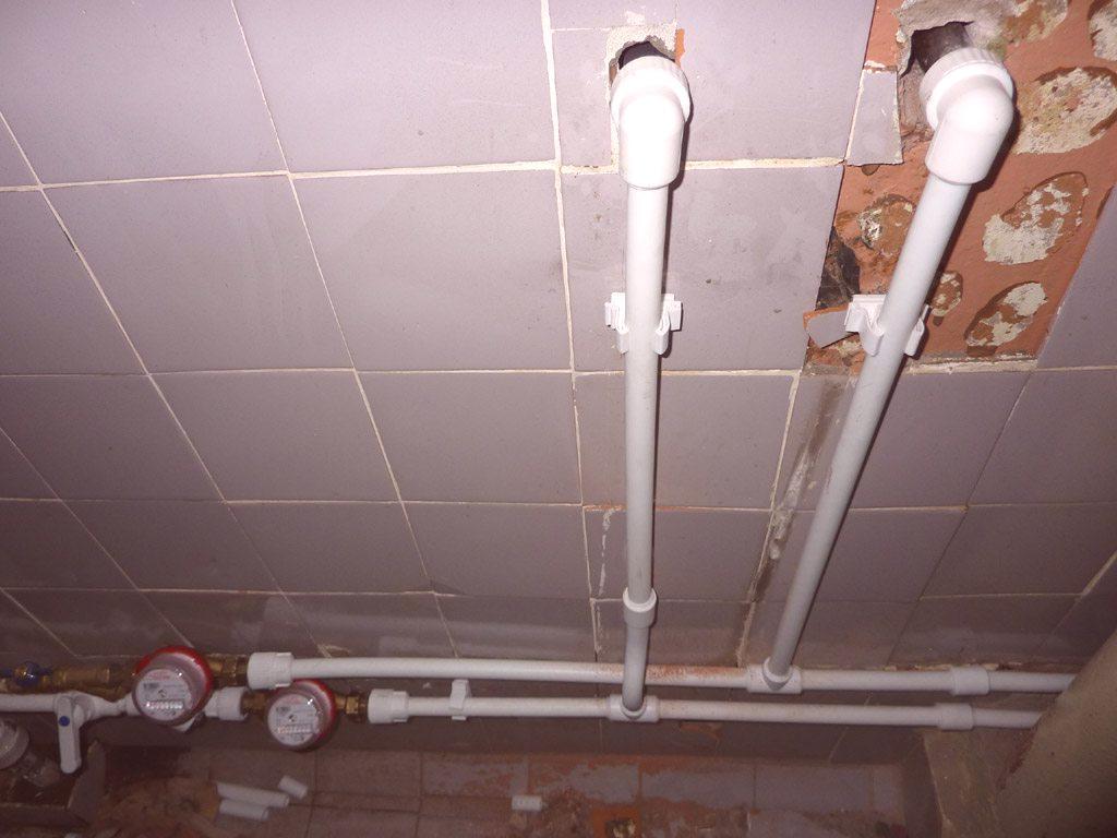 Comment Cacher Des Tuyau De Chauffage remplacement des conduites d'eau dans un appartement
