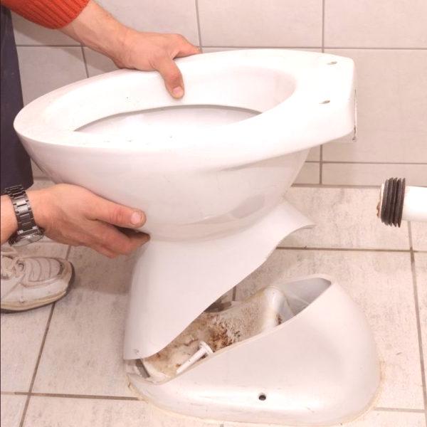 Cómo Reparar Una Grieta En Un Inodoro Instrucciones Simples
